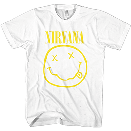 Polera Unisex Nirvana Smiley