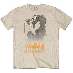 Polera Oficial Unisex Janis Joplin Working the Mic