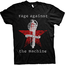 Polera Unisex Rage Against the Machine Bulls On Parade