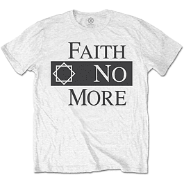 Polera Oficial Unisex Faith No More Logo