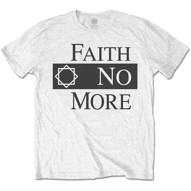 Polera Oficial Unisex Faith No More Logo