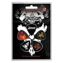 Uñetas Venom Black Metal