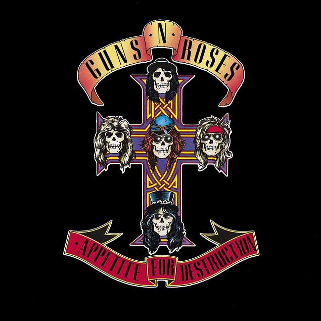 CD Guns´n Roses - Appetite For Destruction