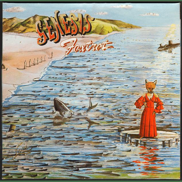 CD Genesis - Foxtrot