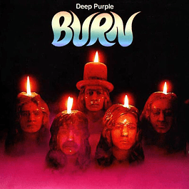 Vinilo Deep Pruple - Burn