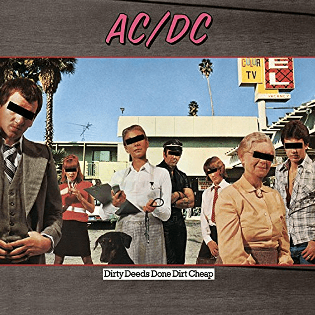 Vinilo AC/DC - Dirty Deeds Done Dirt Cheap