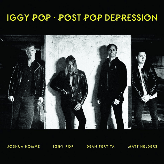 Vinilo Iggy Pop - Post Pop Depression