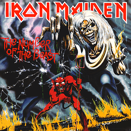 Vinilo Iron Maiden - The Number Of The Beast