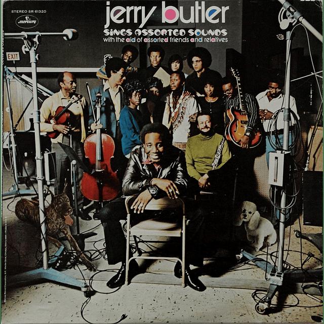 Vinilo Usado Jerry Butler - Sings Assorted Sounds