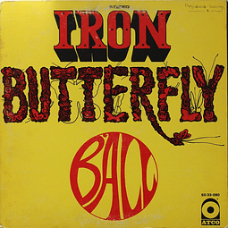 Vinilo Usado Iron Butterfly - Ball