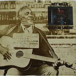 Vinilo Usado Wet Willie - Keep On Smilin´