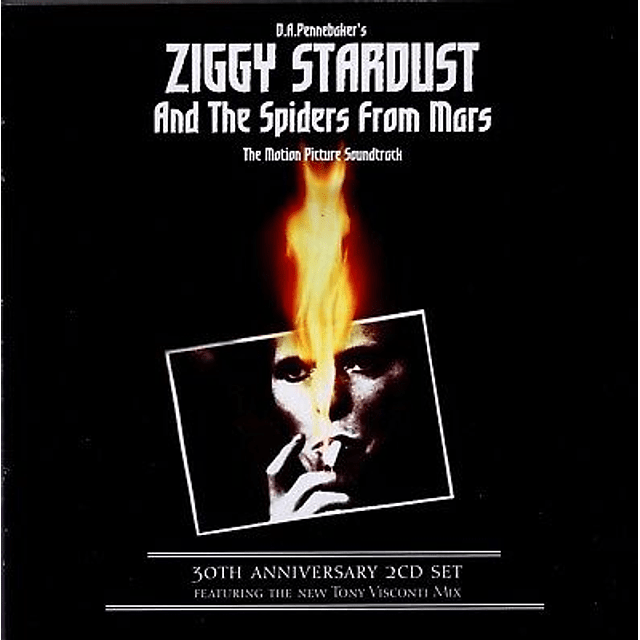 """CD """"2CD"""" David Bowie - Ziggy Stardust And The Spiders From Mars """"The Motion Picture Soundtrack"""""""