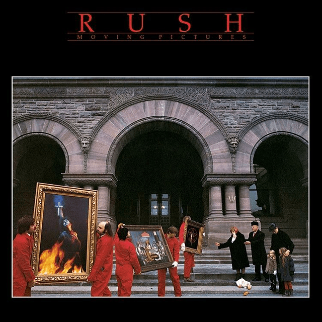"""CD Rush - Moving Pictures """"Remasterizado"""""""