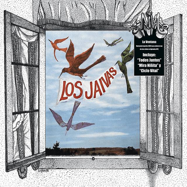 """Vinilo Los Jaivas - La Ventana """"Remasterizado 2020"""""""