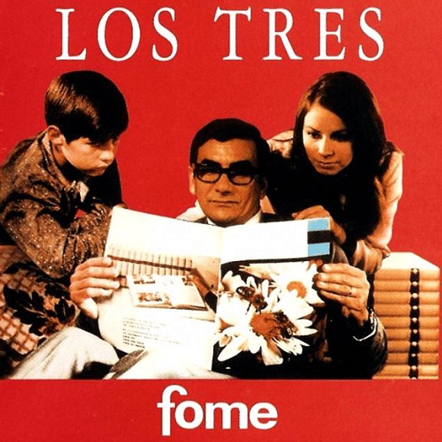 Vinilo Los Tres - Fome