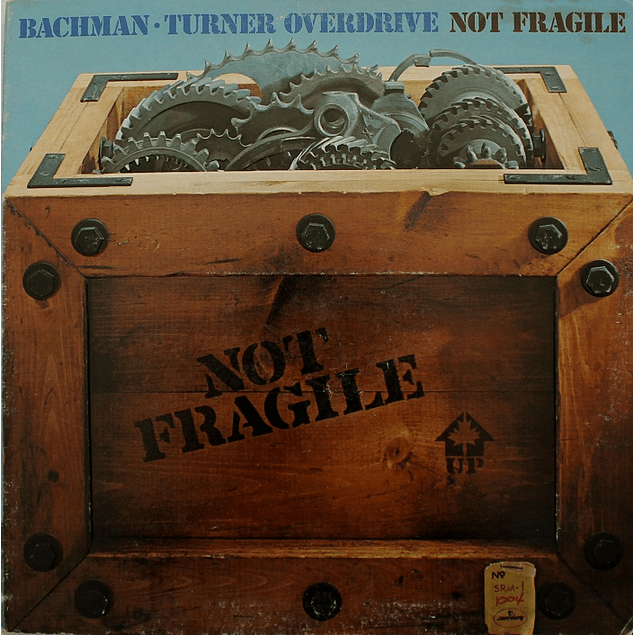 Vinilo Usado Bachman - Turn Overdrive - Not Fragile