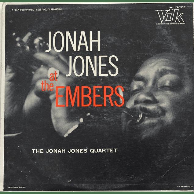 Vinilo Usado The Jonah Jones Quartet - Jonah Jones At The Ambers