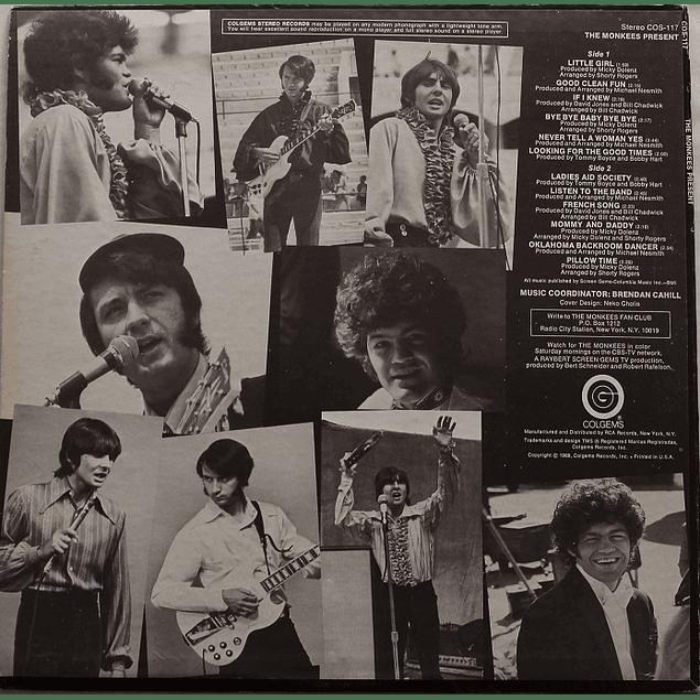 Vinilo Usado The Monkees - The Monkees Present