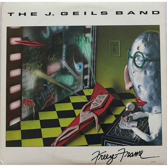 Vinilo Usado The J. Geils Band - Freeze Frame