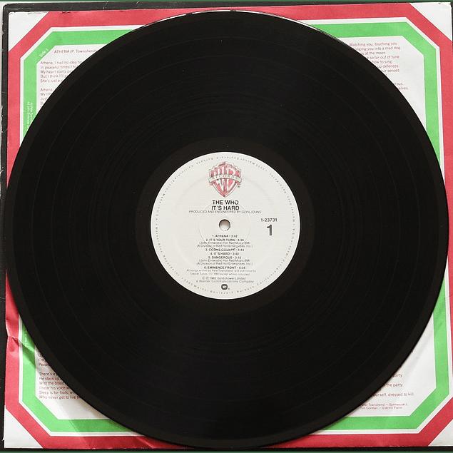 Vinilo Usado The Who - It´s Hard