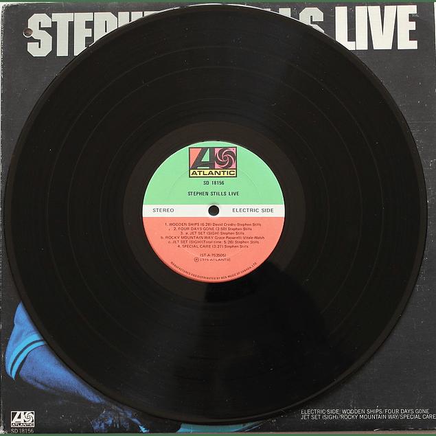 Vinilo Usado Stephen Stills - Live