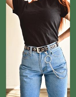 Cinturón Cadena Ojetillos