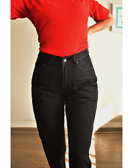 Mom´s Jeans Original Negro