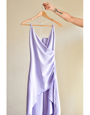 Slip dress Asimétrico