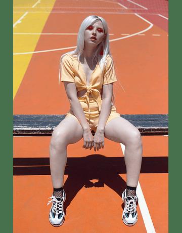 Short Lisa cuadrillé