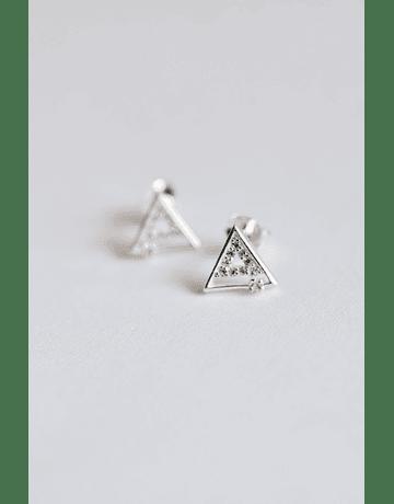 Aros Triángulo Plata