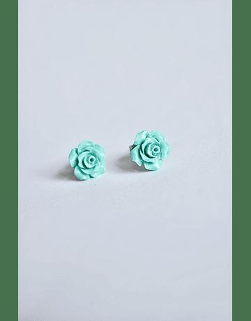 Aros Rosas Plata