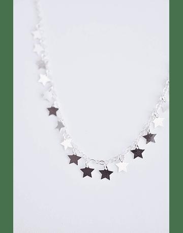 Cadena Estrellas Plata