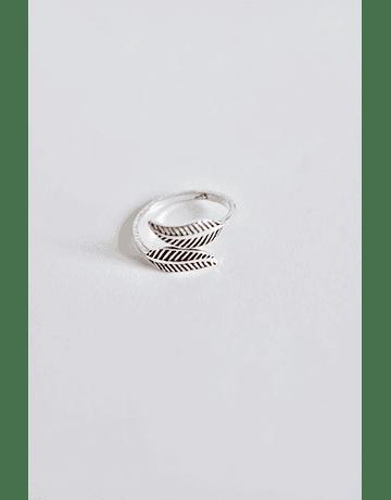 Midi Rings Ajustables Plata