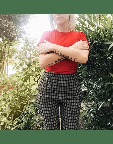 Pantalón Lisa cuadrillé