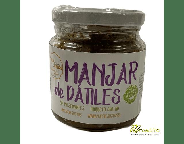 Manjar de Dátil 250 grs - 100% natural, Vegano