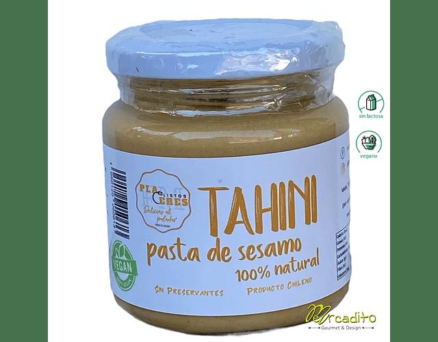 Tahini o Pasta de Sesamo - 100% Natural