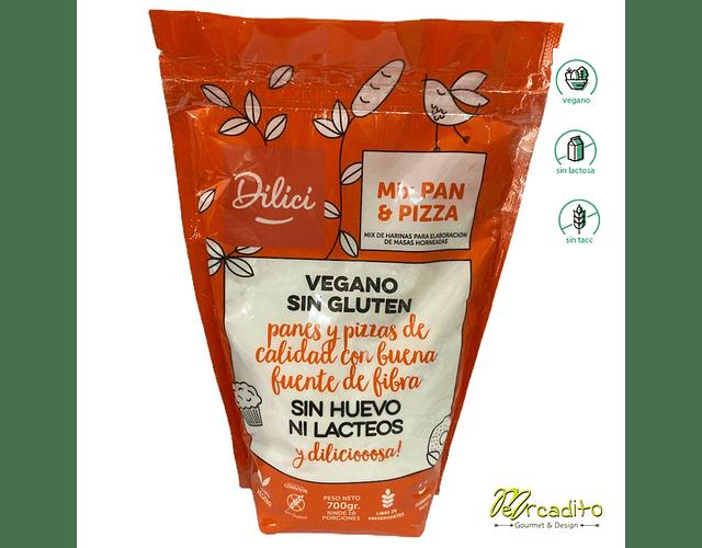 Pre Mezcla de Pan Vegano y Celíaco