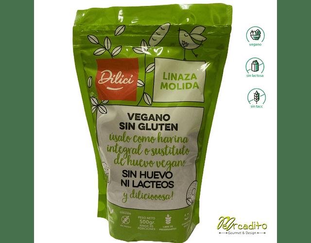 Linaza Molida 100% Natural - Sin Gluten