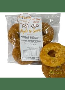 Keto Pan - Bagels de Sésamo (4 unidades)