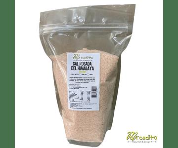 Sal Rosada Fina del Himalaya 1 kilo o 500 grs - Mercadito