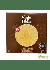 Oblea, Galleta de Barquillo Grande