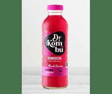 Kombucha, Libre De Gluten Y Vegana, Sabor Mix De Berries, 475 cc