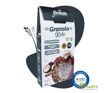 Granola Keto - 2g Carbohidratos