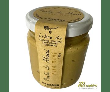 Pasta De Maní  - Libre de azúcares y Vegano 250 g