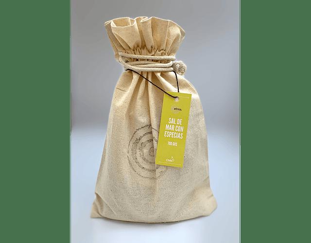 Sal de mar con Especias 700 grs