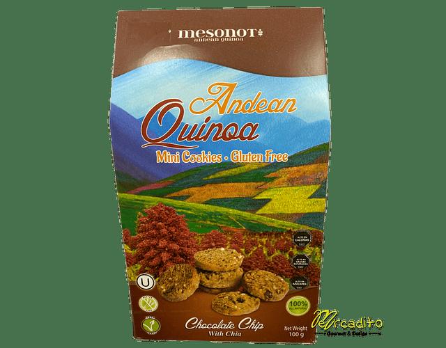 Galleta Quinoa con Chocolate Chips 100 g - Gluten Free y Vegana
