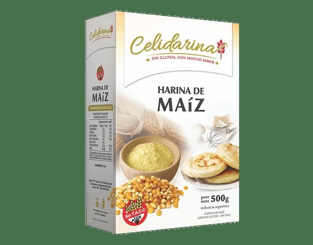 Harina de Maíz, Libre de Gluten, Kosher