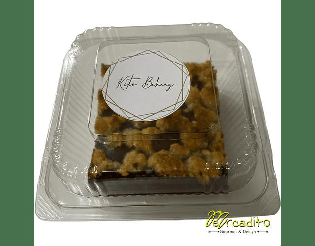 Crumble de Chocolate Individual - Keto