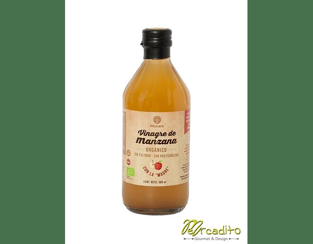 Vinagre de Manzana Orgánico 500 ml