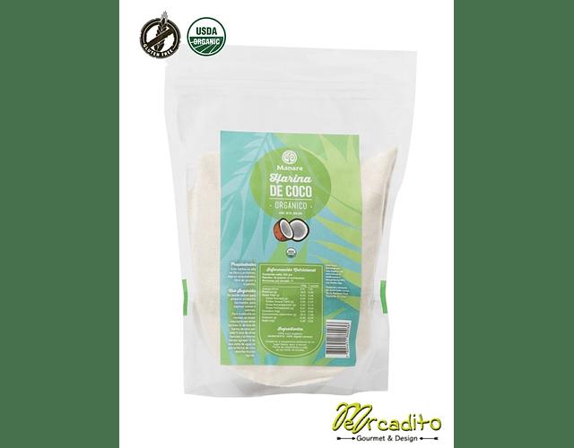 Harina de Coco Orgánica 500 grs - Manare